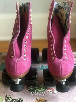 Moxi Lolly Roller Skates Fuchsia Size 6 (Womens 7-7.5) New! Ready to Ship