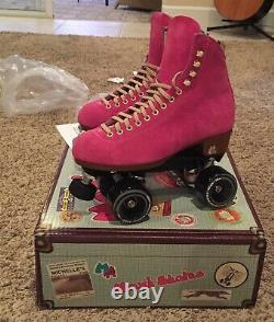 Moxi Lolly Roller Skates Fuschia Size 7! Brand New