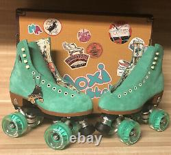 Moxi Lolly Roller Skates Green Apple 2021 Size 5! (fits Womens 6 & 6.5)