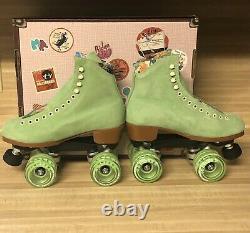 Moxi Lolly Roller Skates Honeydew Size 6! (fits womens 6 -6.5)