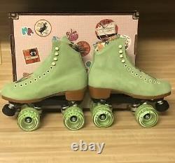Moxi Lolly Roller Skates Honeydew Size 8! (fits womens 9 9.5)