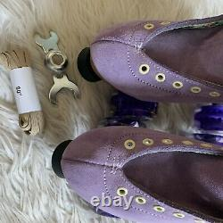 Moxi Lolly Roller Skates Lilac Size 6! (fits womens 7 & 7.5)