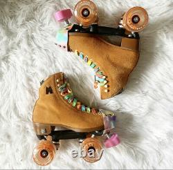 Moxi Lolly Roller Skates OG CLEMENTINE Size 6! (fits womens 7 & 7.5)