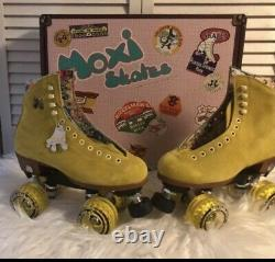 Moxi Lolly Roller Skates Pineapple Size 6 (fits Womens 7 & 7.5) Brand New