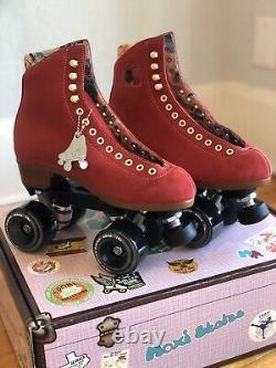 Moxi Lolly Roller Skates Poppy (Red) Size 6 (Womens 7-7.5) New! Ready to Ship