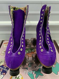 Moxi Lolly Roller Skates Taffy Purple Brand New Size 5 (Fits Women 6-6.5)