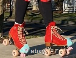 Moxi Lolly Roller Skates size 7 (women's 8), Poppy