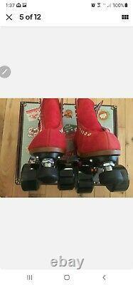 Moxi Lolly Roller Skates size 9 (W 10 10.5) Poppy BNIB Ready To Ship