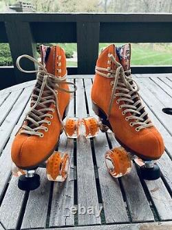 Moxi Lolly Size 6 Clementine Roller Skates (Womens Size 7-7.5) BRAND NEW