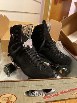 Moxi Lolly Size 7 Rollerskates Black Worn Once