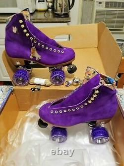 Moxi Lolly Taffy Roller Skates Size 4 (w5-5.5) (Not Impala Riedell or Sure-Grip)