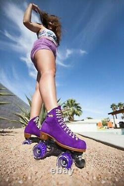 Moxi Lolly Taffy Roller Skates Size 6 (w7-8.5) (Not Impala Riedell Sure-Grip)