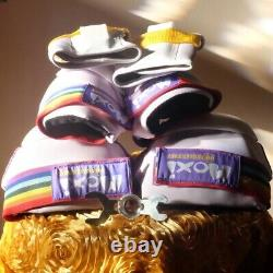 Moxi Lolly in Taffy Roller Skates (size 10) (Moxi Pads Included!)