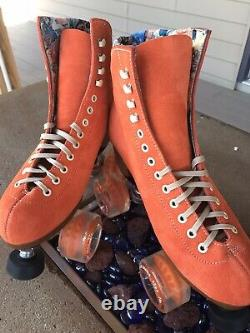 Moxi Lolly roller skates size 7, Clementine