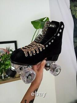 Moxi Panther Roller Skates Size 7 (Fits Womens 8)