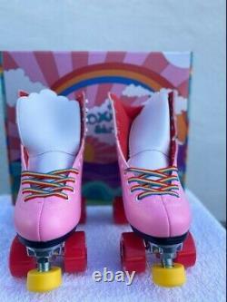Moxi Pink Rainbow Riders Size 5, Women Size 6 -6.5 NEW in Original Box