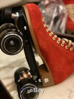 Moxi Riedell Roller Lolly (Poppy Red, 8 Medium)