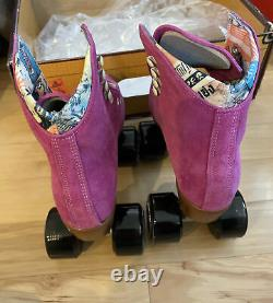 Moxi Roller Skate Lolly Fuchsia Size 5 (Womens 6-6.5)