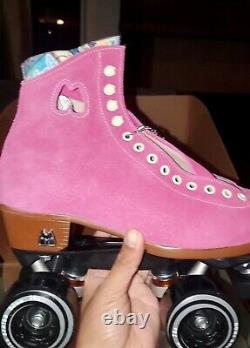 Moxi Roller Skate Lolly Fuchsia Size 6 (Womens 7-7.5)