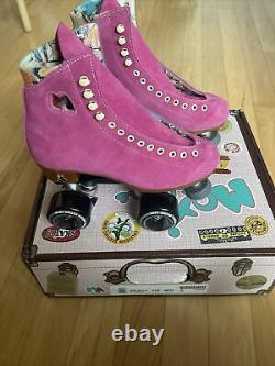 Moxi Roller Skate Lolly Fuchsia Size 6 (Womens 7-7.5) Discontinued Color