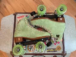 Moxi Roller Skate Lolly Honeydew Size 6 (Womens 7-7.5) Retired Color