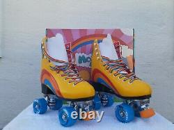 Moxi Yellow Rainbow Riders Size 7 Fits Women Size 8 8 1/2 NEW in Box