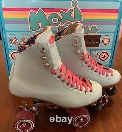 NEW Moxi Beach Bunny Roller Skates size 8