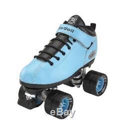 NEW Riedell Dart Speed / Derby Skates Light Blue