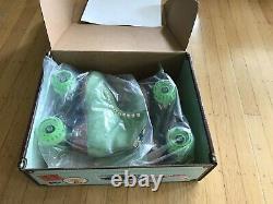 NIB Moxi LOLLY Honeydew 7 Green Roller Riedell Skates W 8.5 / 8