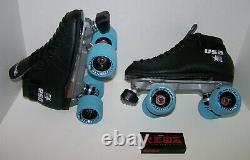 New Riedell 122 Custom Leather Roller Skates Mens Size 7