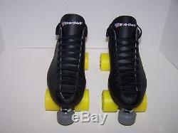 New Riedell 122 Custom Leather Roller Skates Mens Size 9