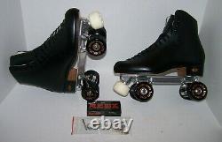 New Riedell 220 Atlas 2010 Custom Leather Roller Skates Mens 9