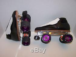 New Riedell 395 Labeda Pro-line Leather Roller Skates Mens 5.5