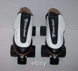 New Riedell 395 Labeda Pro-line Leather Roller Skates Mens 7.5