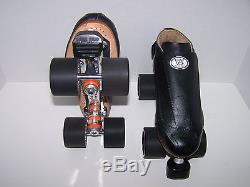 New Riedell 395 Labeda Pro-line Leather Roller Skates Mens Size 7