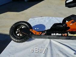 New Skike V8 Tour Cross Skates Black/Orange