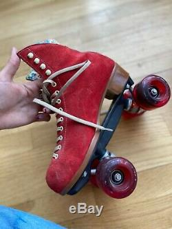 OUTDOOR COMPLETE MOXI POPPY RED SKATE$$ RED SKATE$$ Sz 10 women