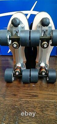 Premiun Riedell Hand Cut Leather OG 172 Roller Skates Neo Reactor Size Men's 5.5