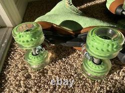 READY TO SHIP Moxi lolly Honeydew Skates Size 8 ORIGINAL HONEYDEW COLOR