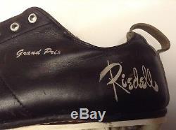 RIEDELL GRAND PRIX ROLLER SKATES SIZE 10 BLACK Used