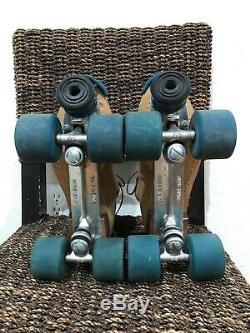 RIEDELL RedWing Mens Roller Skates Size 10 Camel Park Rider Radial 5.5 Wheels