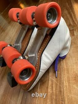 RIEDELL VINTAGE 295 Speed Roller Skates, size 8 1/2