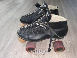 RIEDELL Vintage USA Rs-1000 Speed Roller Skates Womens size 9, mens size 7