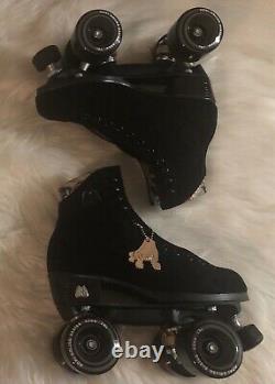 Rare Moxi Lolly Roller Skates Classic Black Size 6! (fits women's 7 & 7.5)
