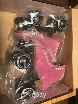 Rare Moxi Lolly Roller Skates Fuchsia Size 7! (fits womens 8 8.5)