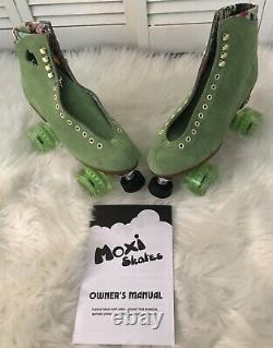 Rare Moxi Lolly Roller Skates Honeydew Size 5! Brand New! (Fits Size 6 & 6.5)