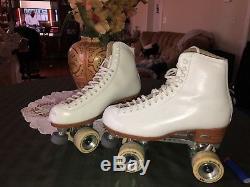 Reidell Custom Artistic Roller Skates Sz 10