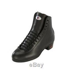 Riedell 120 Award Art Roller Skate Boot Black Men's Size 6 Brand New