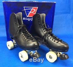 Riedell 120 Black Juice Rhythm Roller Skates Size 9.5 D Mens