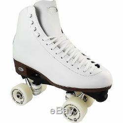 Riedell 120 Uptown Plus Artistic Roller Skates Luigino Plates, Team Wheels
